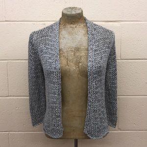 Ellen Tracy Gray Crochet camisole